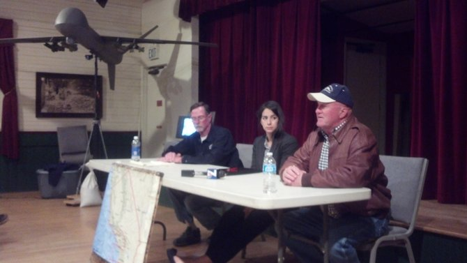 L to R: Dave Patterson, Gabriela Rivera, Bill Everett