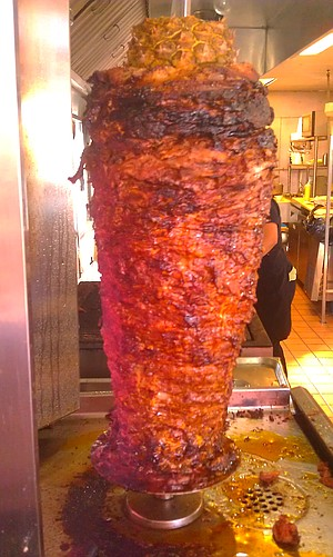 El Paisa's magnificently-crisped trompo of al pastor is among San Diego's most mouth-watering.