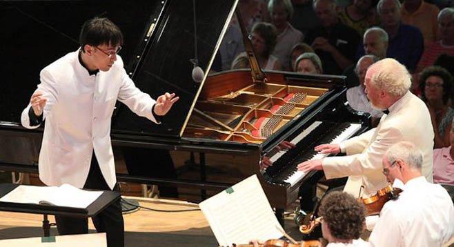 Ken-David Masur conducting.