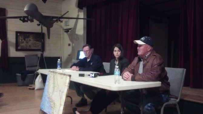 Dave Patterson, Gabriela Rivera, Bill Everett