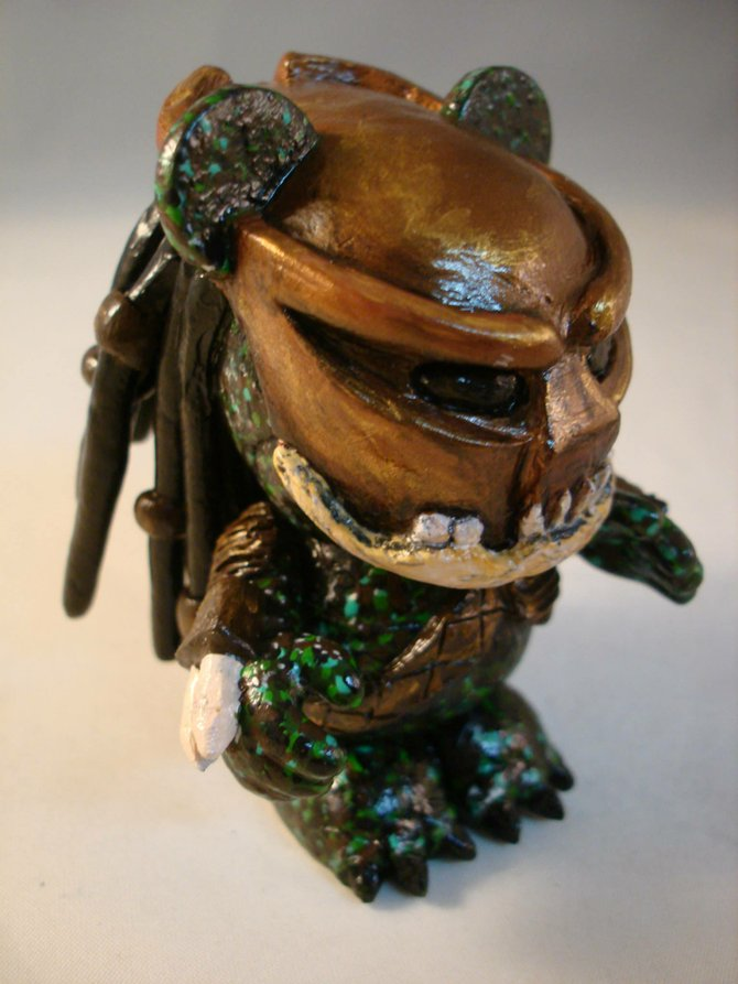 Vinylmation Predator, by Optimus Volts