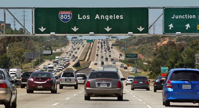 Mile Of Cars Way In National City California