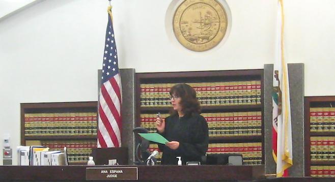 Judge Ana Espana