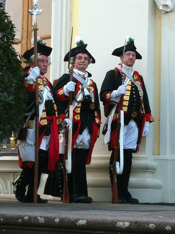 Ludwigsburg Palace reenactors.