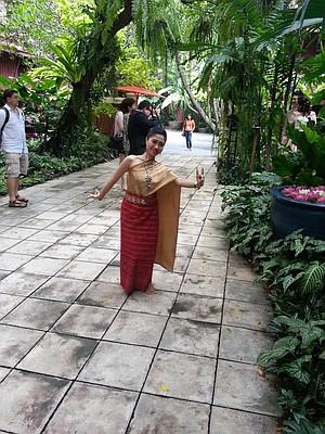 A Thai welcome.