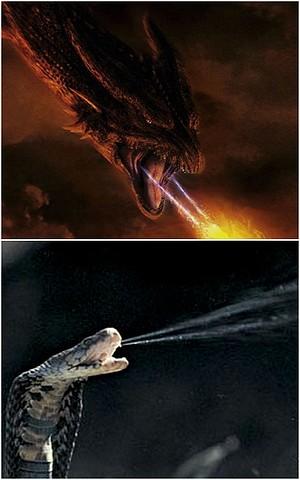 I do like the venom-fire analogy.