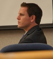 Matthew Terrell pleads not guilty. Photo Eva.