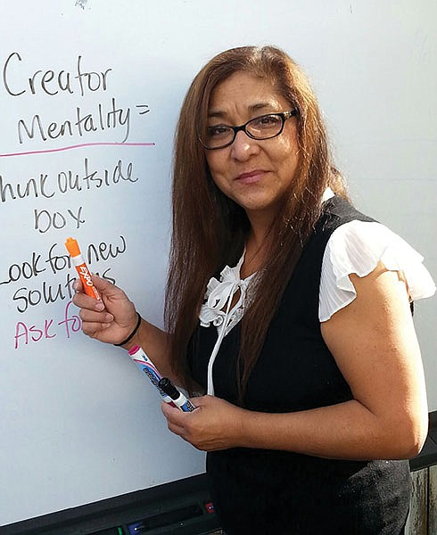 Though a full-time professor at Southwestern, Corina Soto advocates for adjunct (part-time) professors.