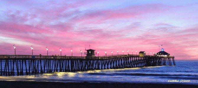 IB Pier, Pink Sunset