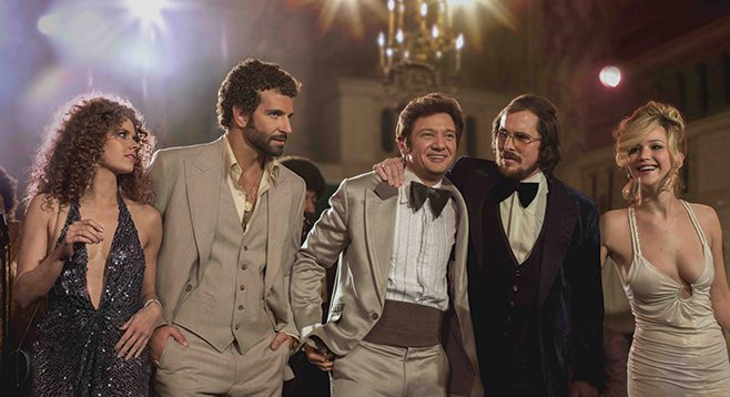 American Hustle: All the other decades can sit down, because the '70s just won.