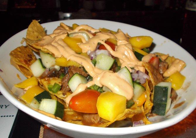 My short rib nachos