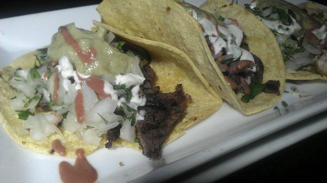 Tacos.  Not tasty.