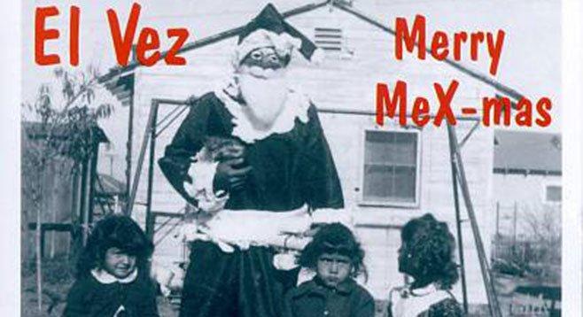 "El Vez is dreaming of a ""Brown Christmas."""