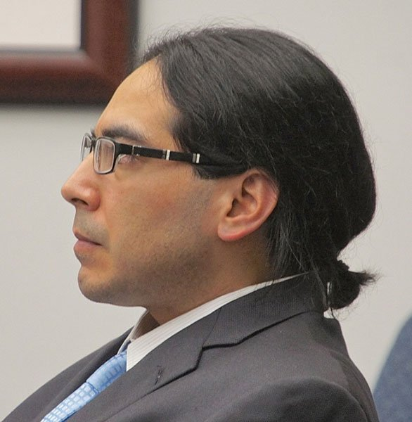 Richard Murillo during trial.