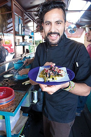 "Guillermo ""Oso"" Campos Moreno, returned from a three-star restaurant in Holland to cook in Tijuana."