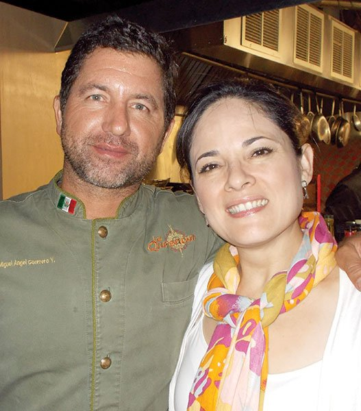 Chef Miguel Angel Guerrero is recognized as a Baja Med pioneer.