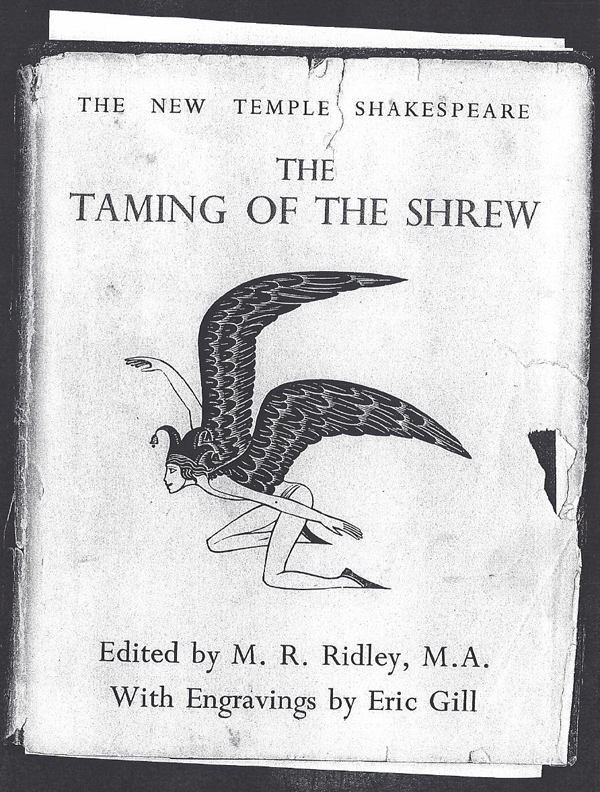 From The Taming of the Shrew of November, 1935.