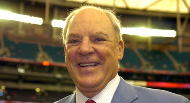 Why do we love Texans owner Robert McNair? He sold his start-up to Enron. Nicely done, Bob.