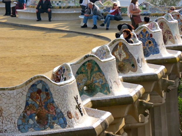 Parc Guell, Barcelona.
