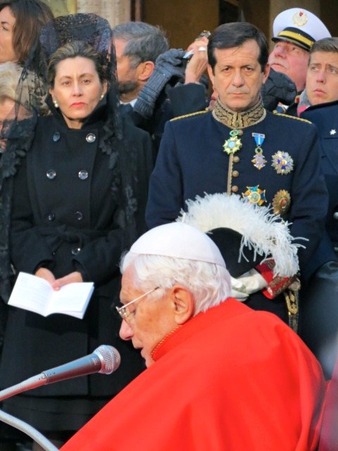 Former Pope Benedict XVI Rome, Italy
