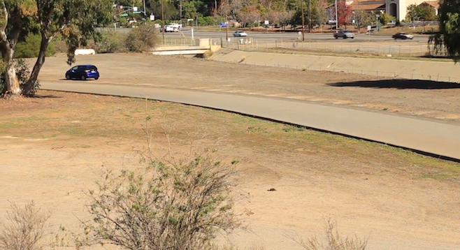 Part of area soon to become El Caballo Park