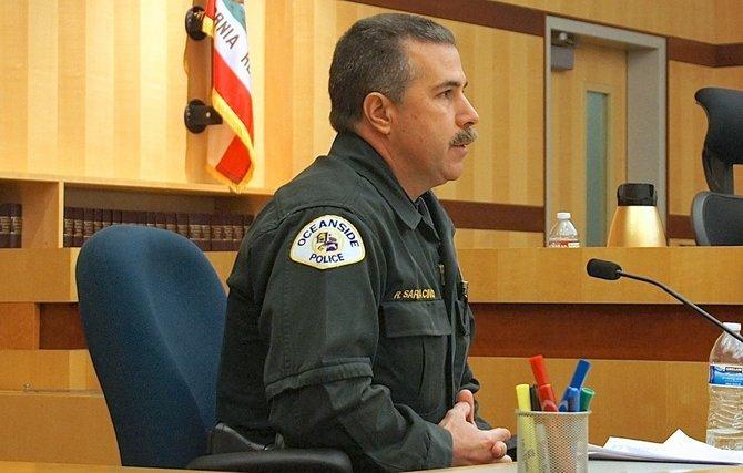 Officer Robert Sarracino testified against Vuong