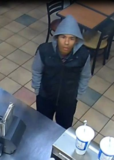 This man is suspected of robbing a Subway on December 30 and attempting to rob a Rally's on January 1