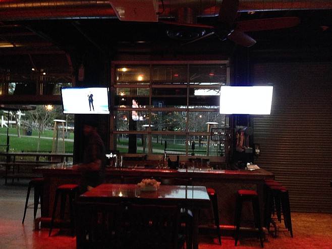 Southpaw Social Club interior