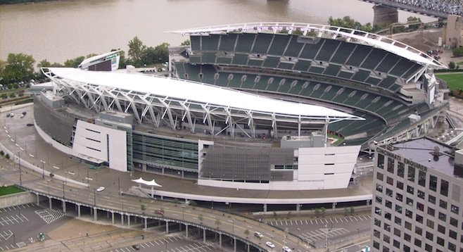Paul Brown Stadium in Cincinnati