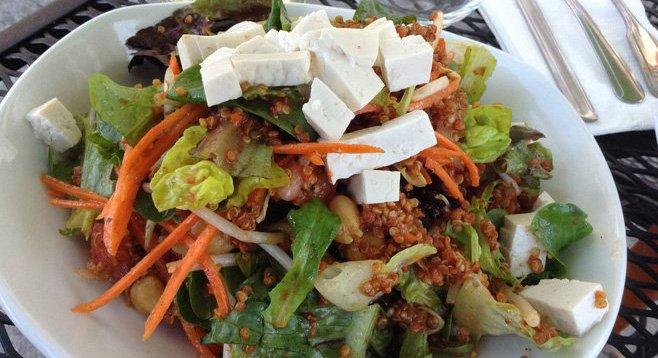 My Totally Vegan salad
