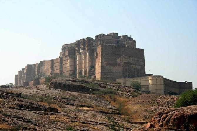 The impressive Mehrangarh Fort, another must-see.