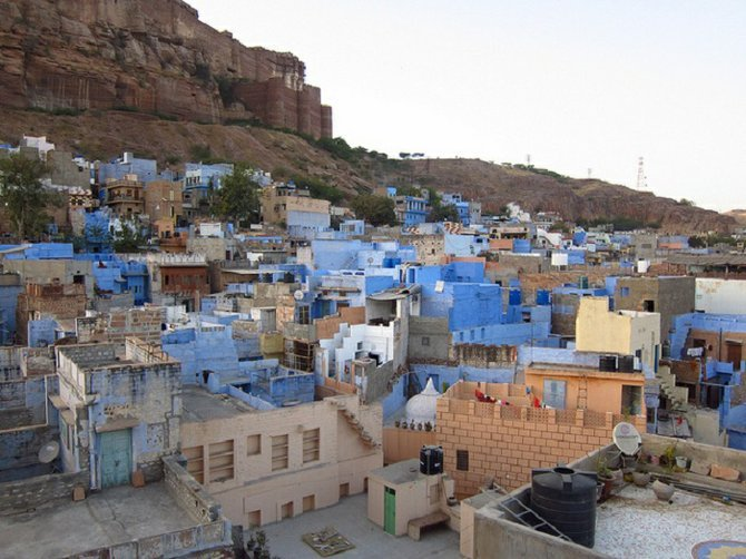 The Blue City, Jodhpur.