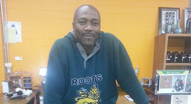 Roots reggae radioman Ras Charles loses student studio and show.