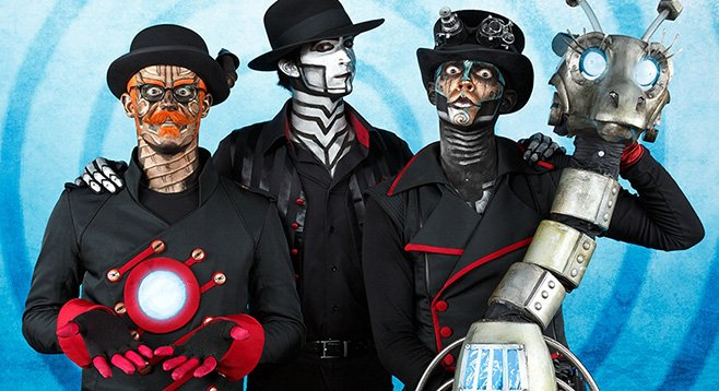 Steam Powered Giraffe's got a record and a comic book coming out this month.