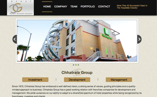 Chhatrala Group's home page