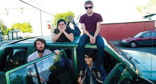 SanFran garage-pop band Cool Ghouls materializes at Tower Bar Friday night.