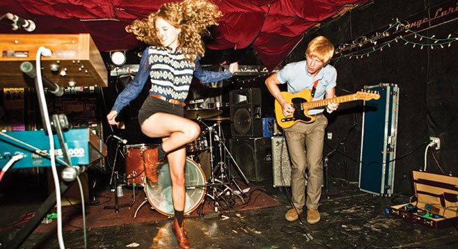 Soda Bar serves indie-pop Denver duo Tennis on Sunday night.