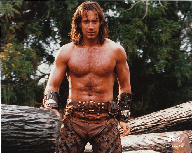 Kevin Sorbo as Hercules.