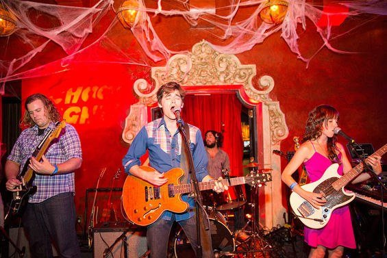 The Lonely Wild saddle up to Soda Bar for a January residency. Photo: Colin Young-Wolff