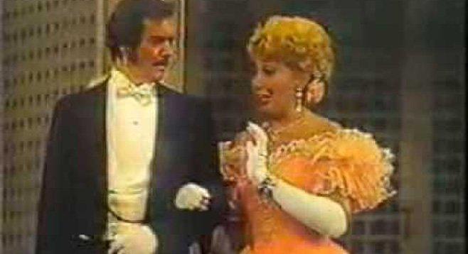 Nolan Van Way and Beverly Sills.