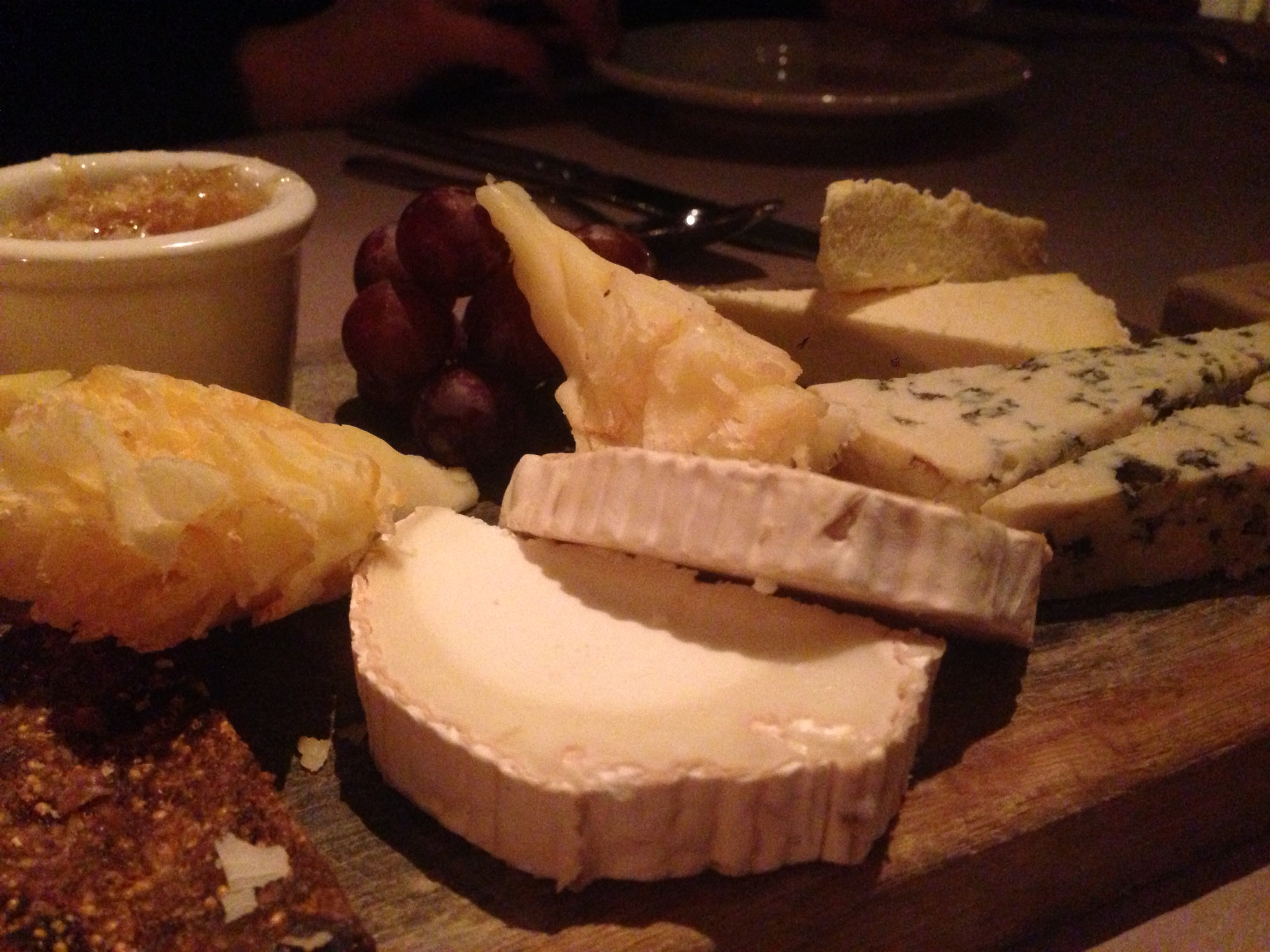 Fantastic cheese board