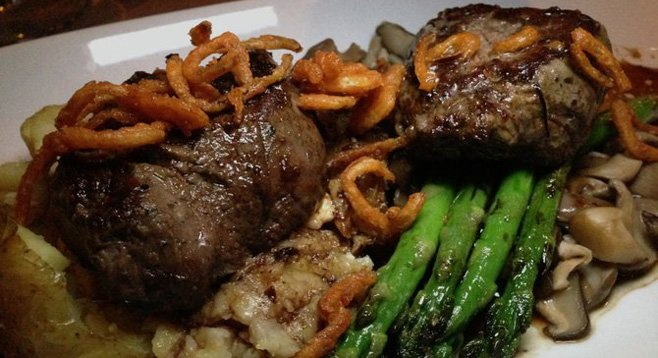 Filet mignon dish