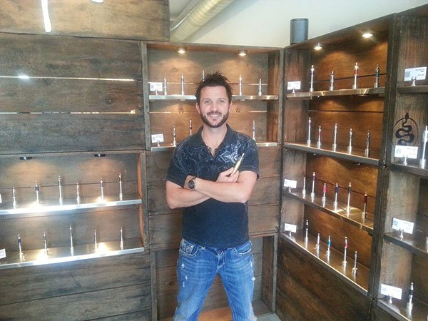 """""""It's upsetting,"""" says AmeriVape co-owner Erik Hutchinson. """"As a society trying to push a more healthy lifestyle, why would we stop or impede the progress to that very goal?"""""""