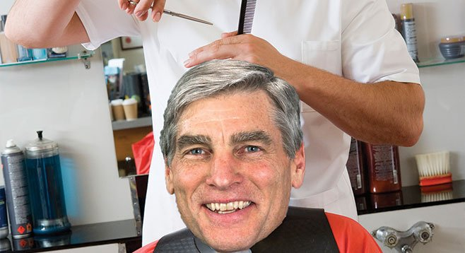 The cost of a haircut… despite differences on drones and pot, Linden Blue has given generously to Colorado senator Mark Udall.