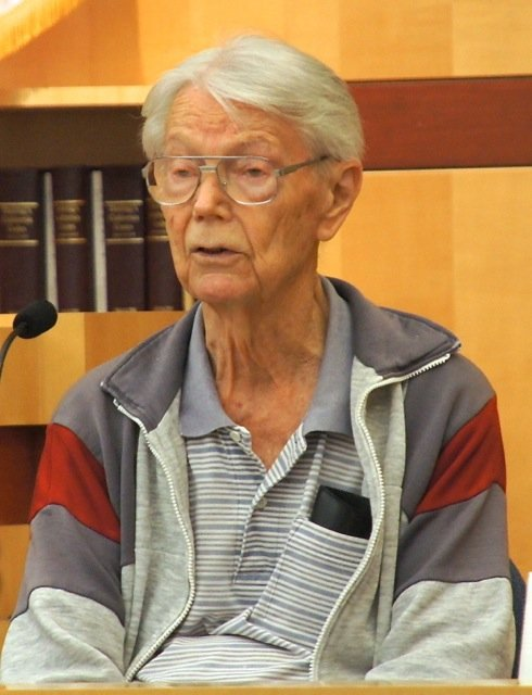 Alleged victim Ben Farber is in his 90s.