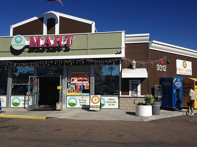 Cheesy Express exterior (Santee location)