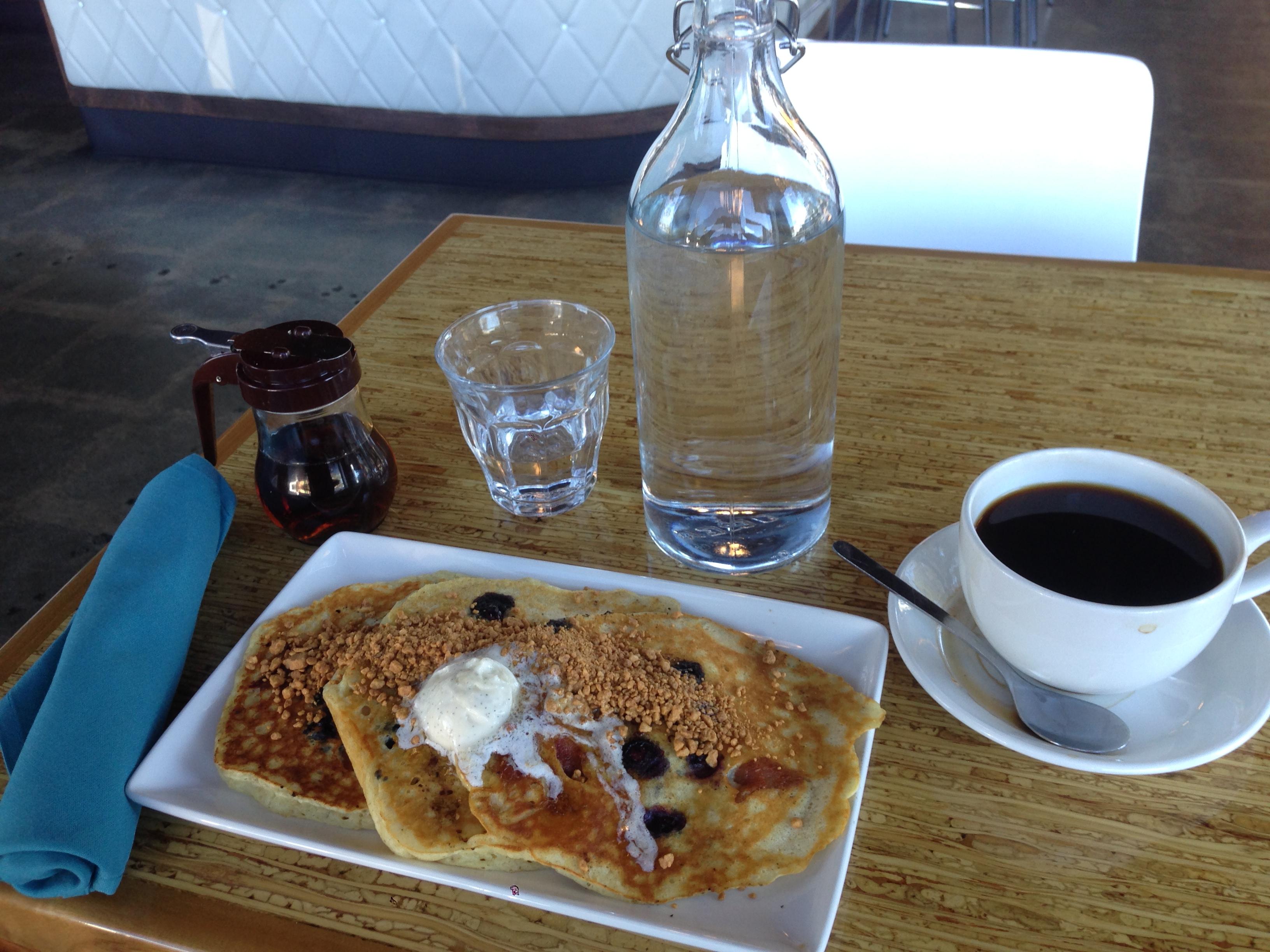 Breakfast. I mean, brunch.