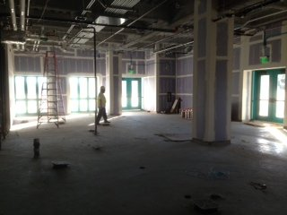 The future home of Oggi's Pizza Express at the new SDSU Student Union.