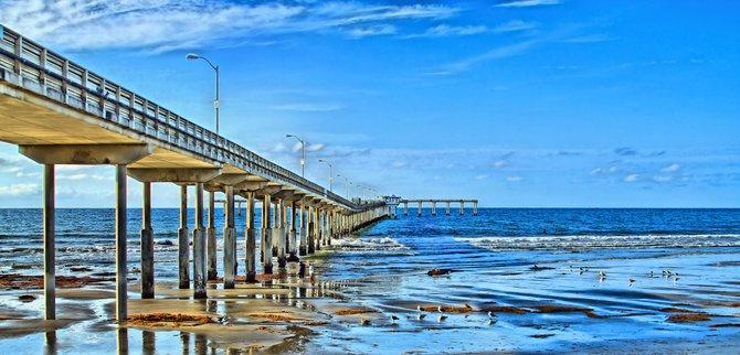 Ocean Beach Pier, Ca