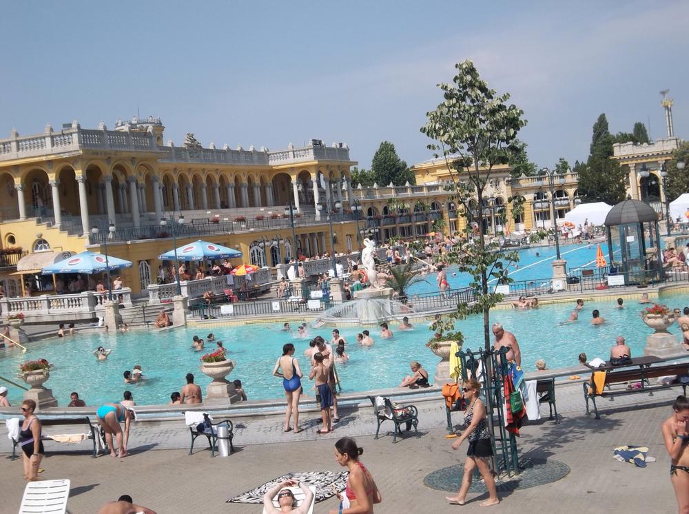 Budapest's impressive Széchenyi Baths.